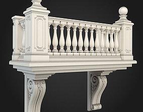 3D model design Balcony