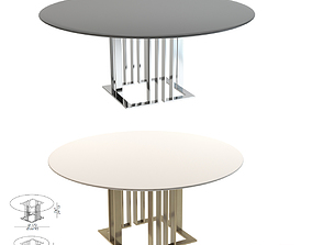 3D asset Meridiani Tables Charlie Round