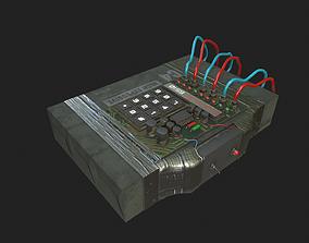 3D model C4 Explosive with Detonator