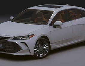 3D asset Realistic Mobile Car 08 Toyota Avalon