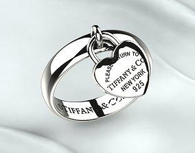 3D print model Tiffany Silver Ring