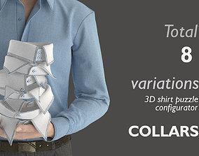 Part 4 - 3D Shirt Puzzle Configurator - COLLARS