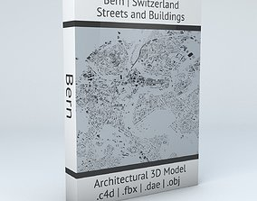 Bern Streets and Buildings 3D