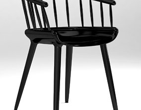 Magis Cyborg Ply and Stick chair 3D model