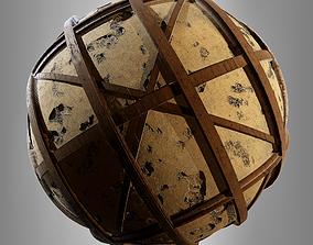 Timber Frame Wall 3D model