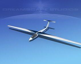 SZD-36 Cobra Glider V12 3D