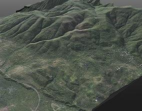 Realistic 8K Very High Detailed Terrain 3D model