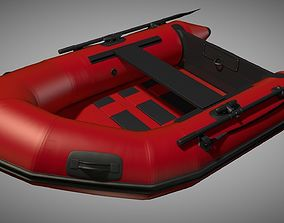 3D Rubber dinghy