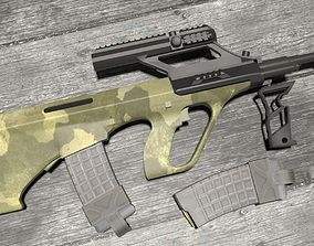 Steyr AUG M1 3D model