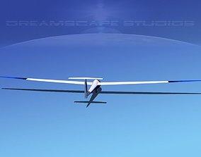 Glaser Dirks DG200 15Mtr Sailplane V07 3D