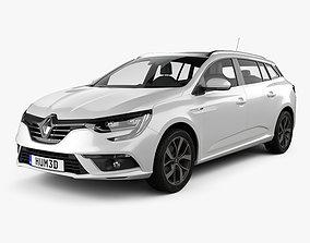 Renault Megane estate 2016 3D model