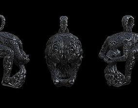 Unique Skull Design 3D print model