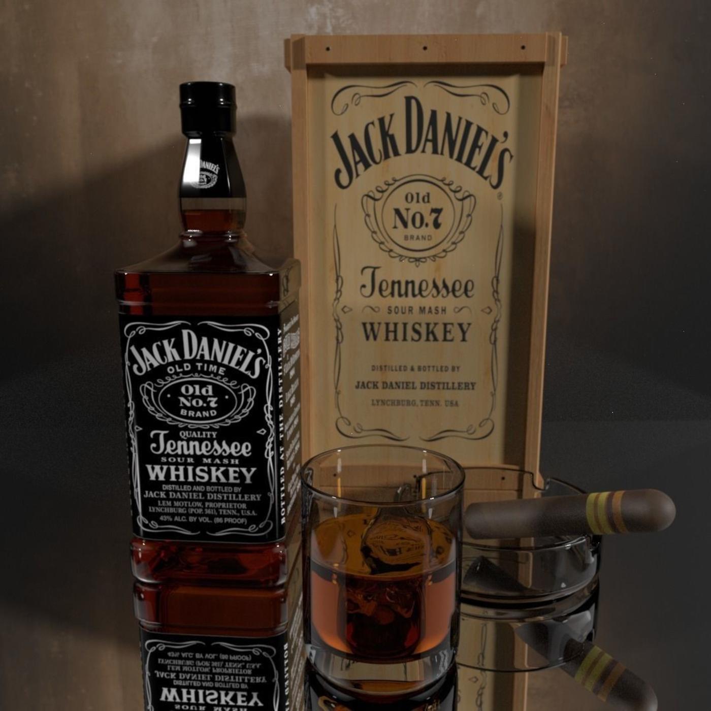 Jack Daniels Bottle Study