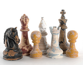 3D Decor Chess Set