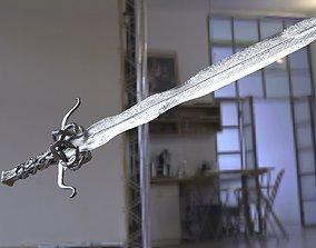3D Snake sword