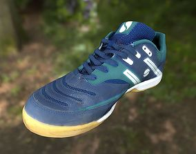 Sport shoe low poly 3D model VR / AR ready