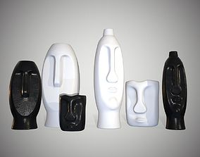 Vases in The Form of Idols 3D PBR