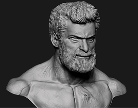 Wolverine Bust Ready to Print Model