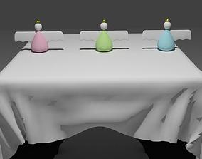 Table Ornaments 3D model