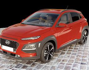 coche Hyundai Kona 2018 3D