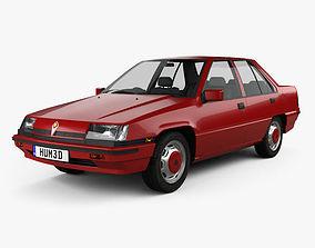 Proton Saga 1985 3D model