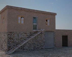 Afghan house 3D asset