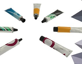 3D model Tube Collection