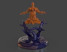 3D printable model Dhalsim Yoga Power Sculpture