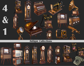 Old Item Mega Pack 3D asset