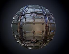 3D Sci-Fi Military Seamless PBR Texture 09