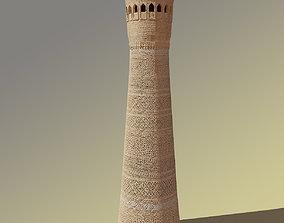 Minaret 3D model