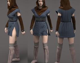 3D Medieval down jacket
