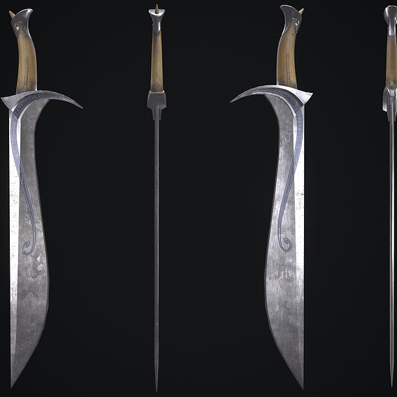 Orcrist sword from The Lord of The Rings Movie