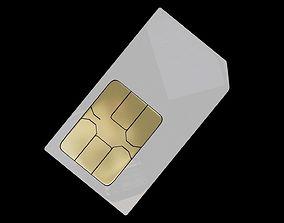 3D SIM card sim