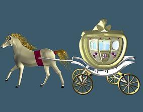 Royal Queen Car 3D model