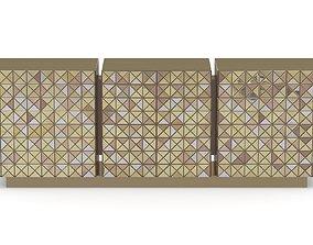 Boca Do Labo Pixel Sideboard 3D model