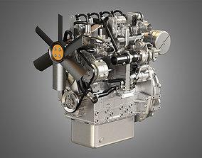 404F-E22TA - 4 Cylinder Diesel 3D model