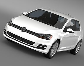 VW Golf TSI BlueMotion 3door 2015