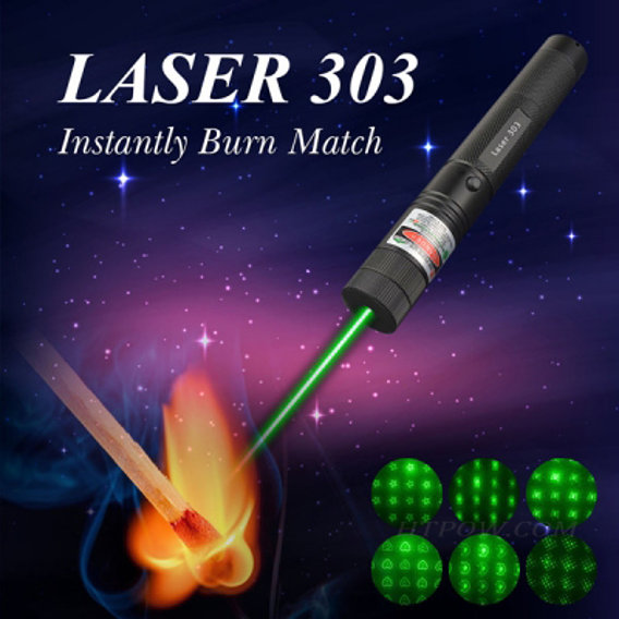 HTPOW Shop Green Laser Pointer 532nm Visible