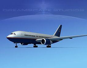 3D model Boeing 767-200ER United