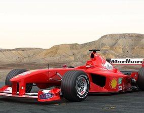 F1 Ferrari F2000 Michael Schumacher 3D