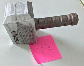 3D model fridge magnet THOR HAMMER