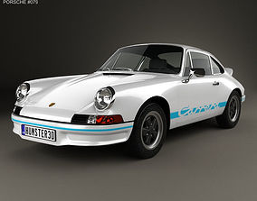 Porsche 911 Carrera RS Sport 1972 3D model