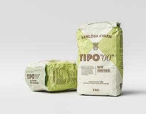 Flour Bag 3D model