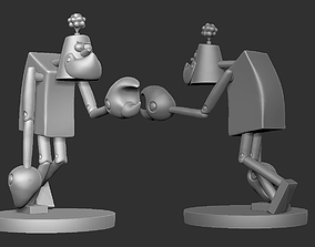 Franken-stymied Frank pucha frangos 3d for print