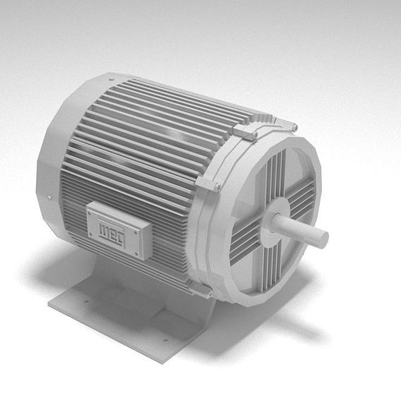 3D Electric Moter