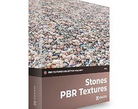 3D model CGAxis PBR Textures Volume 1 Stones