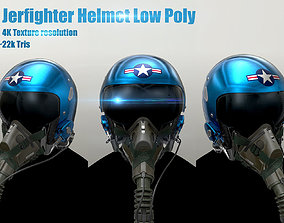 3D model realtime JerFighter Helmet