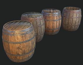 3D model Barrel 4 texture sets