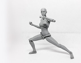 Lady Figure the 3D printed female action
